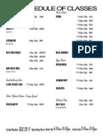 Ftx Schedule