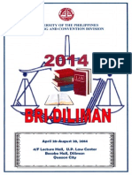 2014 Bar Review Schedule