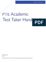 PTEA Test Taker Handbook English