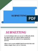 Sub Netting