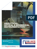 GATE Analytical, Optical & Biomedical Instrumentation Book
