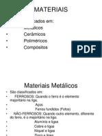Classificação Dos Aços e Noções Do Diagrama de Equilíbrio Fe -c