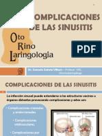 Complicaciones de La Sinusitis
