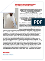 King Abdullah Bin Abdul Aziz Al