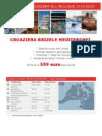 Croaziera Brizele Mediteranei 2015
