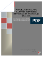 HR Program Ruralnog Razvoja RH i Indikativna Tablica5