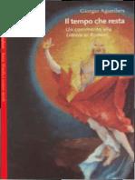 Agamben, Giorgio - Il Tempo Che Resta_ Un Commento Alla Lettera Ai Romani (2000)