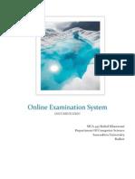 onlineexaminationsystem SRS document