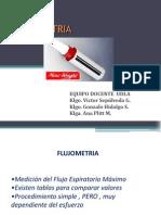 Flujometria UDLA 2014