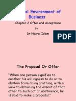 Presentation on Offer & Acceptance