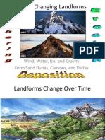 landforms change