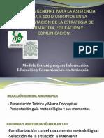 Presentación Asesoria y Asistencia Tecnica en La Estrategia I.E.C.