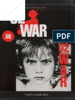 U2 - War (Bandscore)