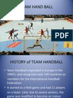Team Hand Ball