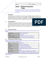 Modelo_visão Trabalho 2012015 - Gerenciamento Financeiro (FinanTech)