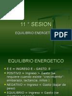 11 ° SESION .- EQ ENERG.