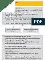 UU no 24 th 2007 pasal 17-21