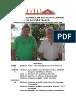 Zzzz Jornada de Yoel Acosta Chirinos en Trujillo