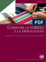 Combatir La Pobreza y La Desigualdad UNRISD 2011
