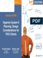 Hyperion System 9 Planning