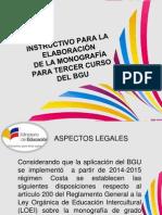 Socialización de Monografía Rio