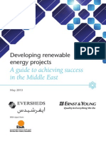 Developing Renewable Energy Projects - MENA Guide 2013
