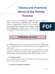 Pricing Theory and Practice jhu.doc