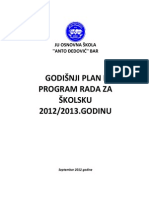 Godisnji Plan 2012 2013 OK