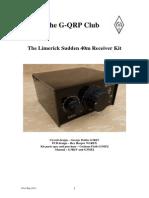 Sudden Building Your Kit Booklet 40 m