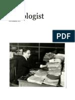 The Sociologist November 2014