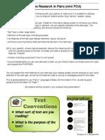 text type intro presentation task