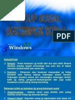 SOSPER. Lembaga, Kelompok & Organisasi Sosial Pertanian