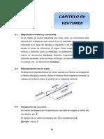FÍSICA GENERAL. VECTORES
