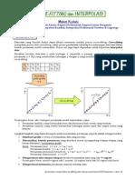 Curve Fitting Dan Interpolasi Doc Dy