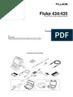 Fluke 434-435 Puesta en Func