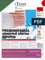 Premenopausal Abnormal Uterine Bleeding.