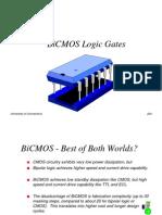 Bicmos Logic Gates