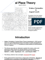 Lecture 8 Central Place Theory
