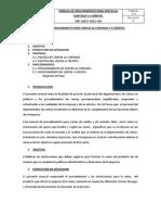 Manual de Procedimiento Para Ventas de Contado y de Crédito