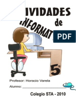 Cuadernillo Informatica 5to