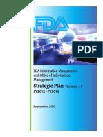 FDA Information Management Strategic Plan
