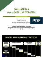 Evaluasi Dan Kontrol Strategi Agus H 2014