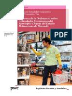 Boletín de Actualidad Corporativa N° 18 - Reforma Parcial Ordenanza de Actividades Económicas del Municipio Chacao del Estado Bolivariano Miranda