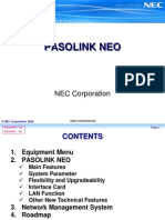Pasolink NEO Training