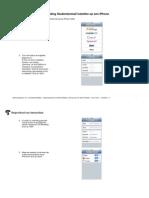 Instellen Studentenmail Op iPhone PDF