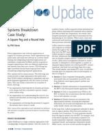 Systems Breakdown Case Study