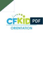 CFKids Orientation Handout