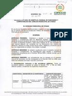 Acuerdo 032 de 2012
