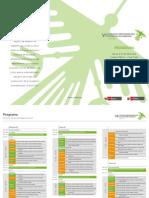 Programa VII CONGRESO IBEROAMERICANO DE EDUCACIÓN AMBIENTAL 2014