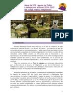 Plan de Trabajo de La BE Curso 2014-15 Revisada Por Rosa Mari 28 Sept.